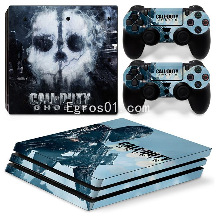 Skin PS4 Pro - Call of Duty Ghosts