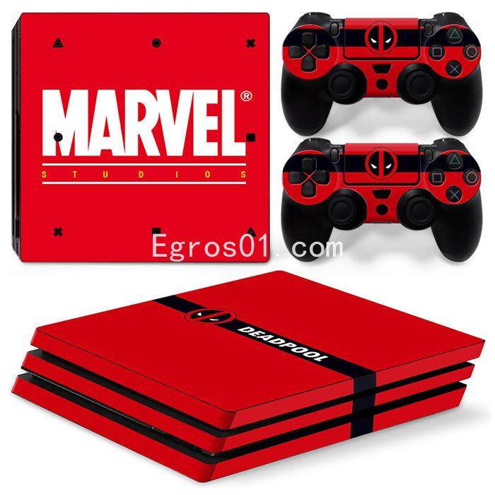 Skin PS4 Pro - Deadpool 03