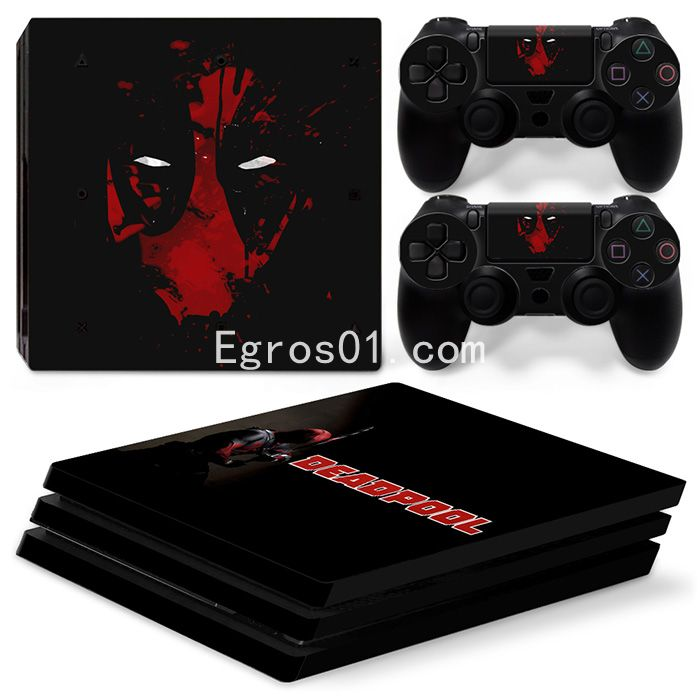 Skin PS4 Pro - Deadpool 04