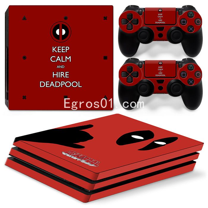 Skin PS4 Pro - Deadpool 10