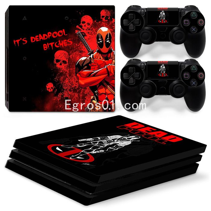 Skin PS4 Pro - Deadpool 13
