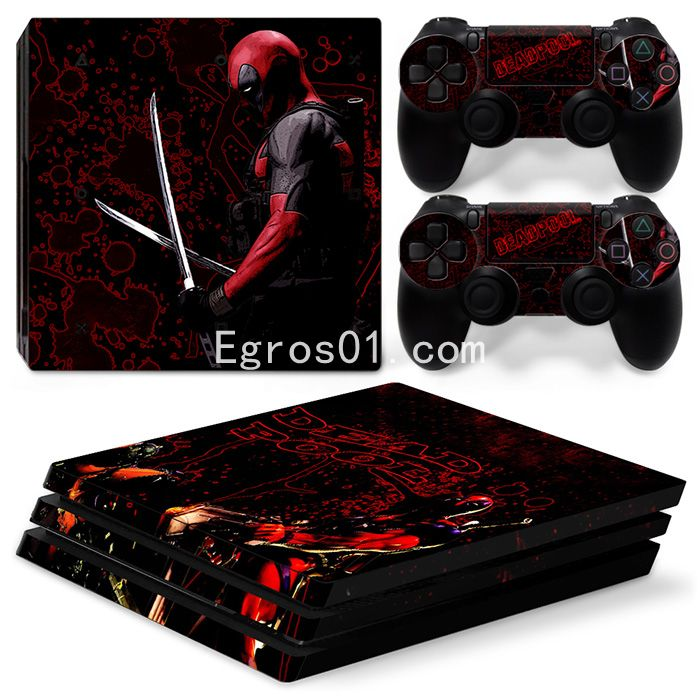 Skin PS4 Pro - Deadpool 14