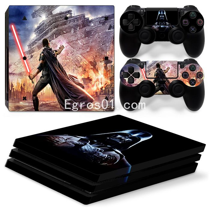 Skin PS4 Pro - Star War 03