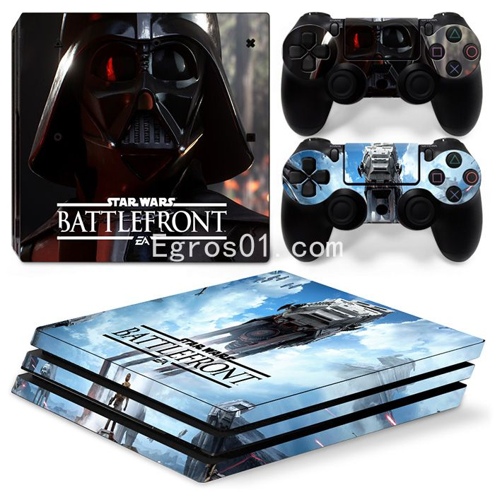 Skin sticker PS4 Pro - Star Wars Battlefront