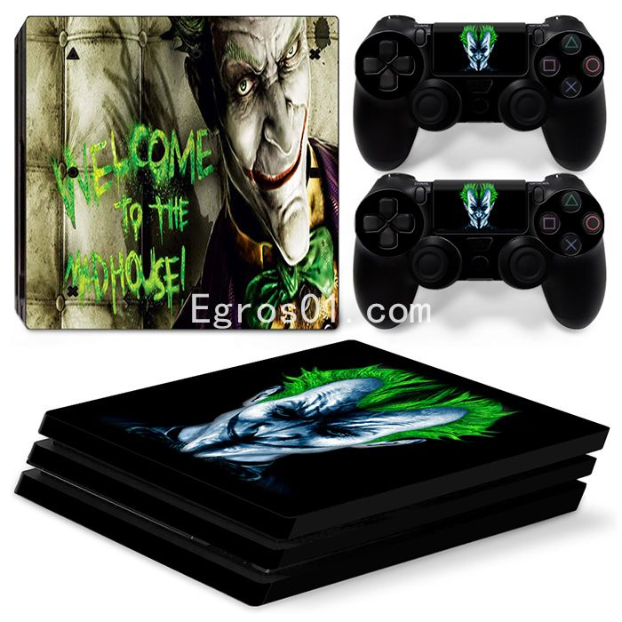 Skin sticker PS4 Pro - The Dark Knight 02