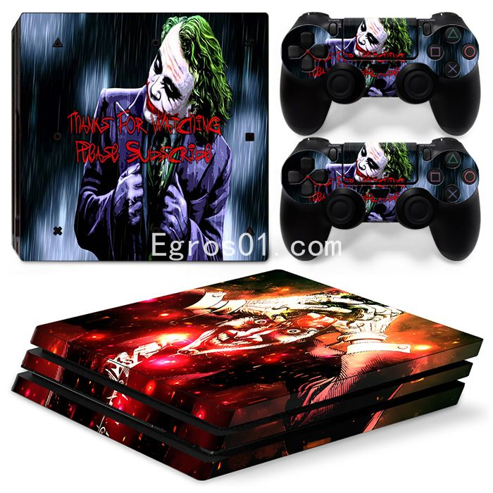 Skin sticker PS4 Pro - The Dark Knight 03