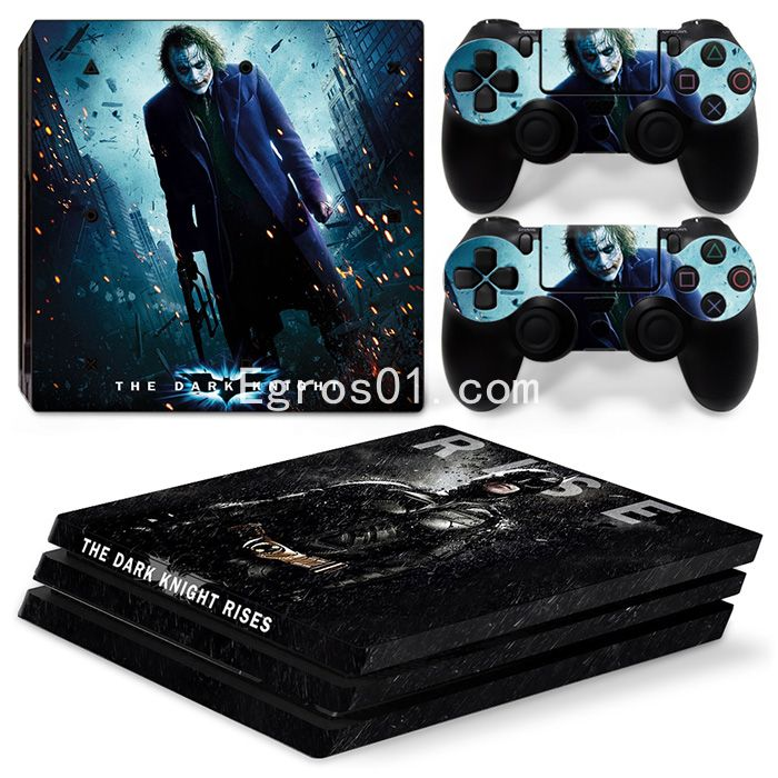 Skin sticker PS4 Pro - The Dark Knight Rises