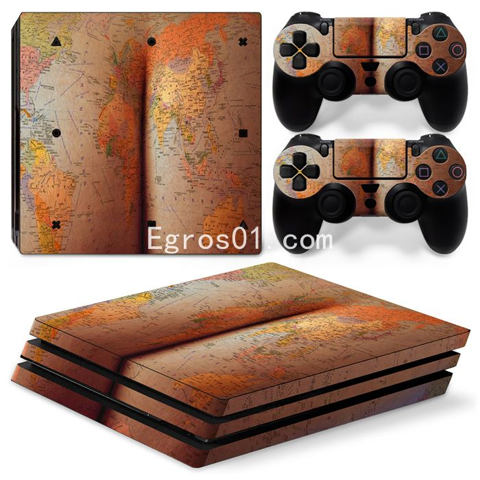 Sticker PS4 Pro - Fille sexe 18