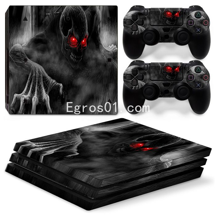 Sticker PS4 Pro - Call of Duty Ghosts 02