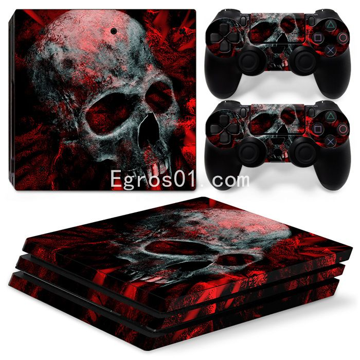 Sticker PS4 Pro - Call of Duty Ghosts 04