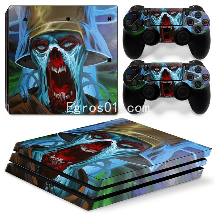 Sticker PS4 Pro - Call of Duty Ghosts 05