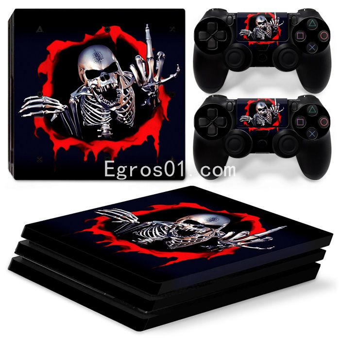 Sticker PS4 Pro - Call of Duty Ghosts 07