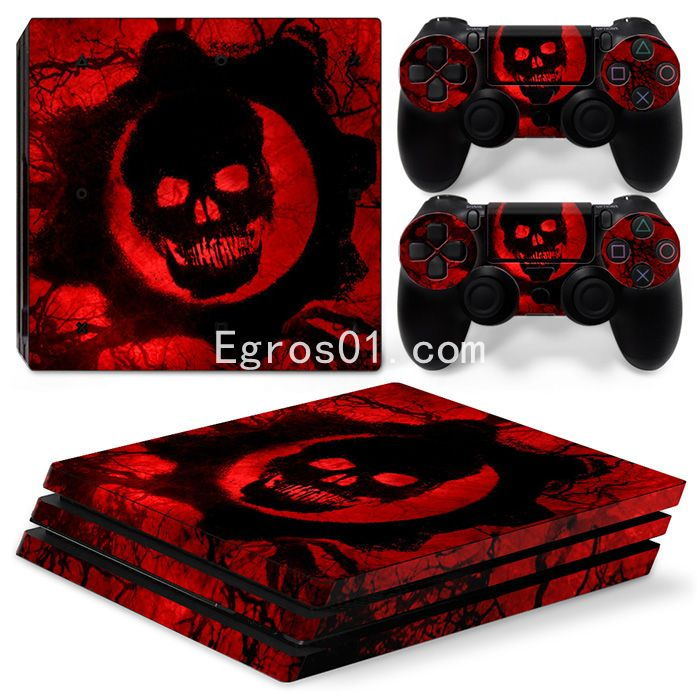 Sticker PS4 Pro - Call of Duty Ghosts 11