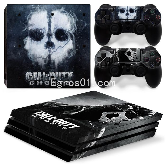 sticker PS4 Pro - Call of Duty Ghosts 12