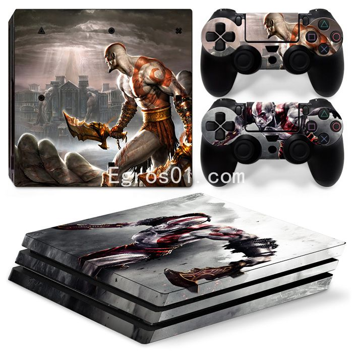 Autocollant skin PS4 Pro - God of War