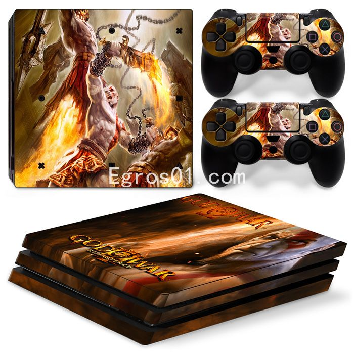 Autocollant skin PS4 Pro - God of War 03