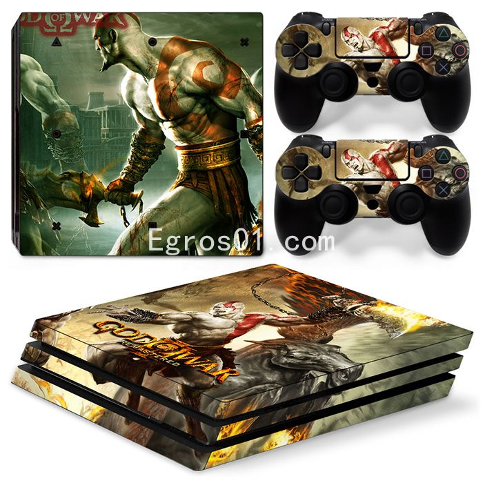 Autocollant skin PS4 Pro - God of War 05
