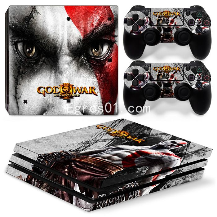 Autocollant skin PS4 Pro - God of War 07