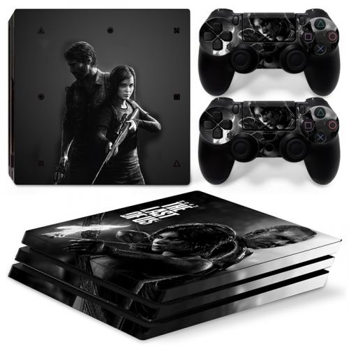 Skin autocollant PS4 Pro - The last of us