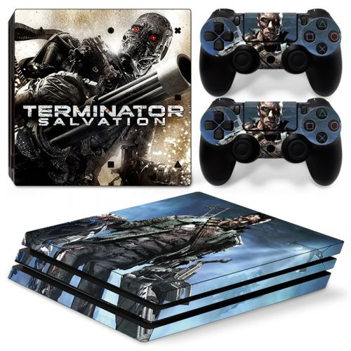 Skins stickers PS4 Pro - Terminator salvation