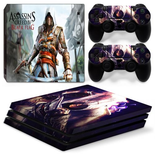 Skins stickers PS4 Pro - Assassin's Creed Black Flag