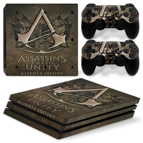 Skins PS4 Pro - Assassin's Creed Unity
