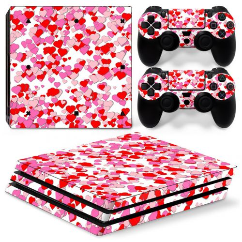 Skin sticker PS4 Pro - Coeur