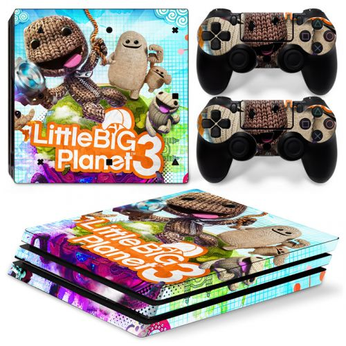 Skin sticker PS4 Pro - Little big planet 3