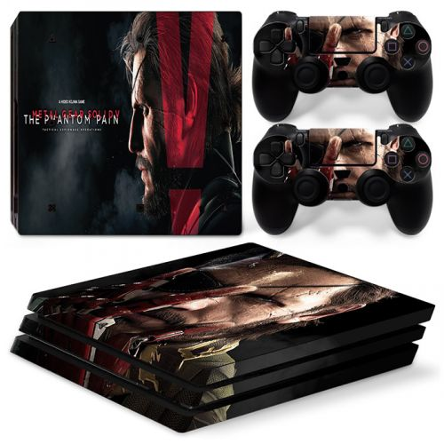 Skin sticker PS4 Pro - Metal Gear Solid V