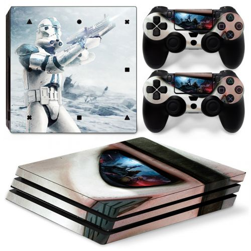 sticker PS4 Pro - Star War