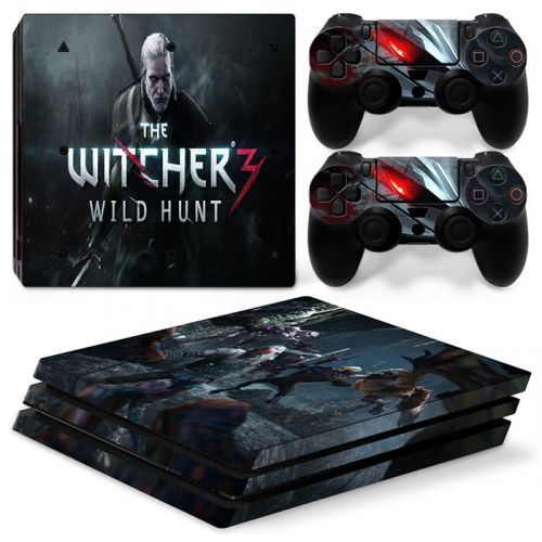 sticker PS4 Pro - The Witcher